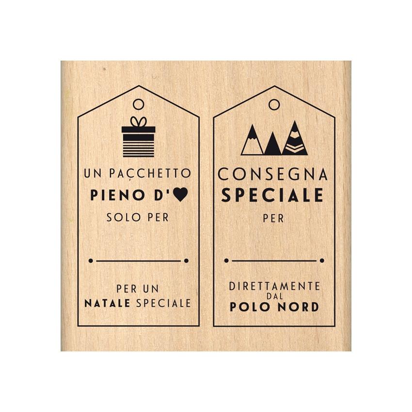 PROMO de -99.99% sur Tampon bois italien CONSEGNA SPECIALE Florilèges Design