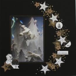 Tampon bois ÉTOILE ORIGAMI par Florilèges Design. Scrapbooking et loisirs créatifs. Livraison rapide et cadeau dans chaque co...
