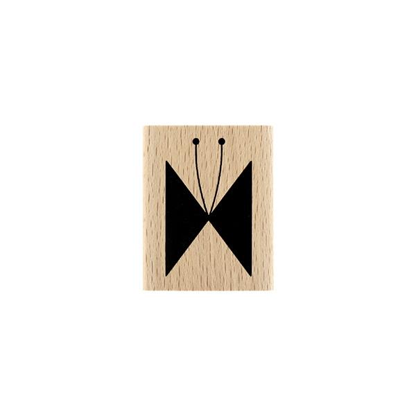 Tampon bois Papillon Ligné