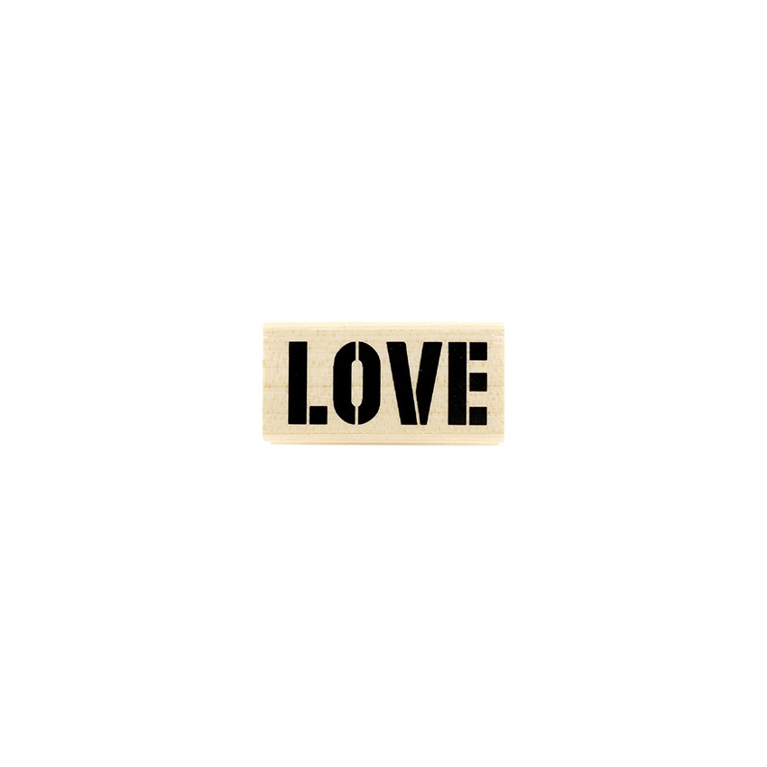Tampon bois Love Brut