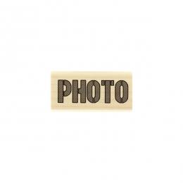 Tampon bois Photo Brut
