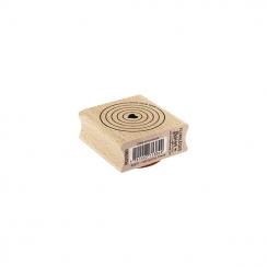 Tampon bois CIBLE AMOUREUSE par Florilèges Design. Scrapbooking et loisirs créatifs. Livraison rapide et cadeau dans chaque c...