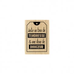 Commandez Tampon bois JUSTE UN BRIN Florilèges Design. Livraison rapide et cadeau dans chaque commande.