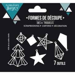 Outils de découpe DÉCORATIONS DE NOËLX3