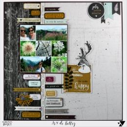 Papier imprimé GYPSY FOREST 1