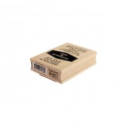 Commandez Tampon bois ANNÉE LUMINEUSE Florilèges Design. Livraison rapide et cadeau dans chaque commande.