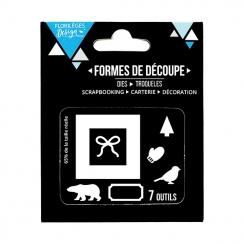 Outils de découpe DÉCO D'HIVER par Florilèges Design. Scrapbooking et loisirs créatifs. Livraison rapide et cadeau dans chaqu...