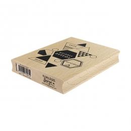 PROMO de -99.99% sur Tampon bois espagnol MIS MEJORES DESEOS Florilèges Design