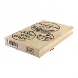 Tampon bois espagnol MOMENTOS ELEGIDOS par Florilèges Design. Scrapbooking et loisirs créatifs. Livraison rapide et cadeau da...