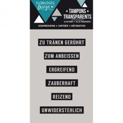 Tampons clear allemand MINIWÖRTER 2 par Florilèges Design. Scrapbooking et loisirs créatifs. Livraison rapide et cadeau dans ...
