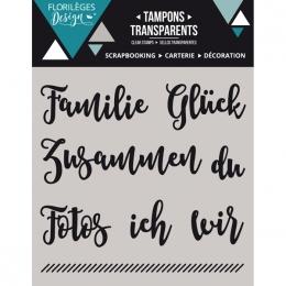 Tampons clear allemand KLEINE WORTE 1