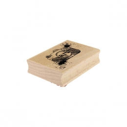 Commandez Tampon bois CLICHÉ D'ART Florilèges Design. Livraison rapide et cadeau dans chaque commande.
