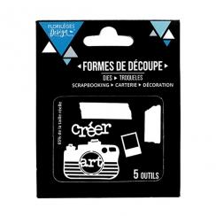 PROMO de -60% sur Outils de découpe CRÉER Florilèges Design