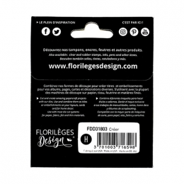 Outils de découpe CRÉER par Florilèges Design. Scrapbooking et loisirs créatifs. Livraison rapide et cadeau dans chaque comma...