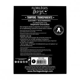 Tampons clear MA VIE DE CRÉATIVE par Florilèges Design. Scrapbooking et loisirs créatifs. Livraison rapide et cadeau dans cha...