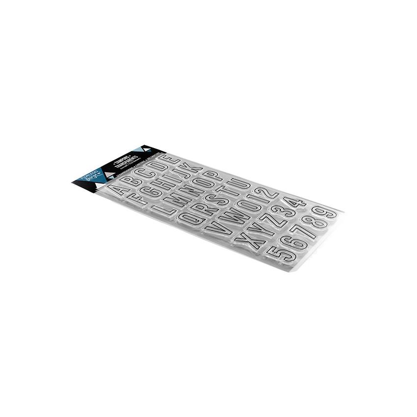 Tampons clear ALPHABET 1 par Florilèges Design. Scrapbooking et loisirs créatifs. Livraison rapide et cadeau dans chaque comm...