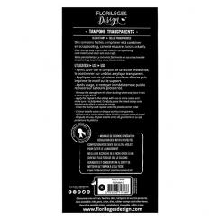 PROMO de -99.99% sur Tampons clear ALPHABET 2 Florilèges Design