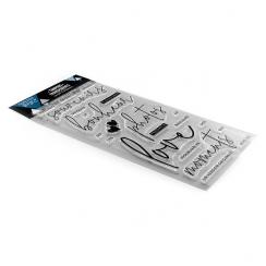 Tampons clear À SAVOURER ENSEMBLE par Florilèges Design. Scrapbooking et loisirs créatifs. Livraison rapide et cadeau dans ch...