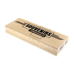 Tampon bois SOUVENIRS FORMIDABLES