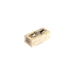 Tampon bois MODE COSY par Florilèges Design. Scrapbooking et loisirs créatifs. Livraison rapide et cadeau dans chaque commande.
