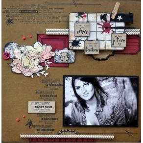 Tampon bois DE JOLIES PHOTOS par Florilèges Design. Scrapbooking et loisirs créatifs. Livraison rapide et cadeau dans chaque ...