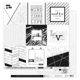 Papier imprimé EN TOUTES LETTRES 1 par Florilèges Design. Scrapbooking et loisirs créatifs. Livraison rapide et cadeau dans c...
