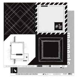 Papier imprimé EN TOUTES LETTRES 3 par Florilèges Design. Scrapbooking et loisirs créatifs. Livraison rapide et cadeau dans c...