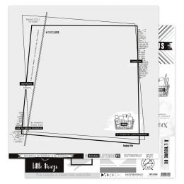 Papier imprimé EN TOUTES LETTRES 5 par Florilèges Design. Scrapbooking et loisirs créatifs. Livraison rapide et cadeau dans c...