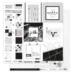 Parfait pour créer : Kit collection EN TOUTES LETTRES par Florilèges Design. Livraison rapide et cadeau dans chaque commande.