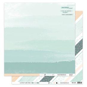 Papier imprimé SOFT & GREEN 8 par Florilèges Design. Scrapbooking et loisirs créatifs. Livraison rapide et cadeau dans chaque...