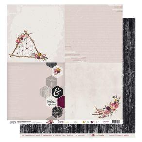 Papier imprimé GYPSY FOREST 4 par Florilèges Design. Scrapbooking et loisirs créatifs. Livraison rapide et cadeau dans chaque...