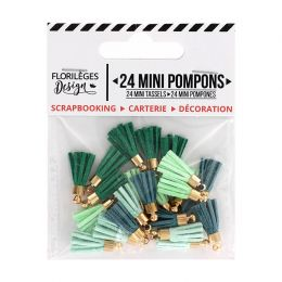 Mini pompons SOFT & GREEN