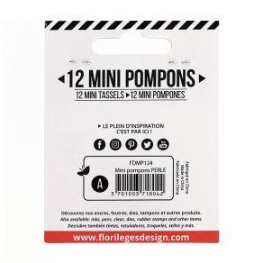 Mini pompons PERLE