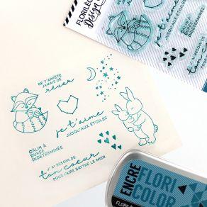 Tampons clear JUSQU'AUX ÉTOILES par Florilèges Design. Scrapbooking et loisirs créatifs. Livraison rapide et cadeau dans chaq...