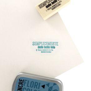 Tampon bois italien BELLE FOTO par Florilèges Design. Scrapbooking et loisirs créatifs. Livraison rapide et cadeau dans chaqu...