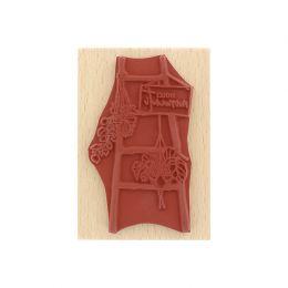 Tampon bois italien SCALA DECOR par Florilèges Design. Scrapbooking et loisirs créatifs. Livraison rapide et cadeau dans chaq...