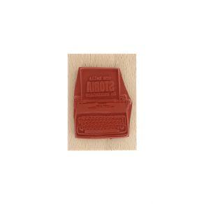 Tampon bois italien SCRIVERE UNA BELLA STORIA par Florilèges Design. Scrapbooking et loisirs créatifs. Livraison rapide et ca...