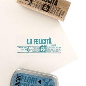 Tampon bois italien UN PUNTO FERMO