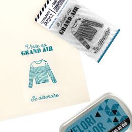Tampons clear VIRÉE AU GRAND AIR