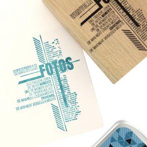 Tampon bois allemand SPUREN DER ZEIT par Florilèges Design. Scrapbooking et loisirs créatifs. Livraison rapide et cadeau dans...