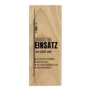 Tampon bois allemand IMMER IM EINSATZ