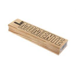 Tampon bois allemand DIE GROSSEN MOMENTE par Florilèges Design. Scrapbooking et loisirs créatifs. Livraison rapide et cadeau ...