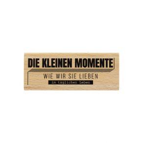 Tampon bois allemand WIE WIR SIE LIEBEN