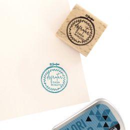 Tampon bois espagnol BORDADOS par Florilèges Design. Scrapbooking et loisirs créatifs. Livraison rapide et cadeau dans chaque...