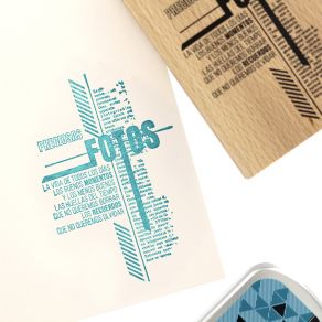 Tampon bois espagnol RASTROS DEL TIEMPO par Florilèges Design. Scrapbooking et loisirs créatifs. Livraison rapide et cadeau d...