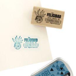 Tampon bois espagnol COSAS SIN IMPORTANCIA par Florilèges Design. Scrapbooking et loisirs créatifs. Livraison rapide et cadea...