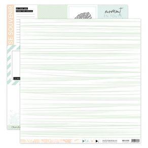 Papier imprimé SOFT & GREEN 3