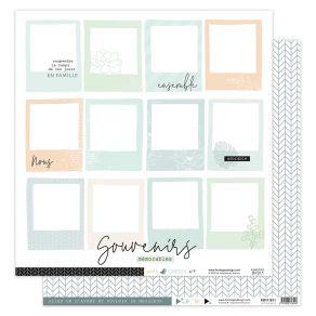 Papier imprimé SOFT & GREEN 4