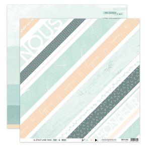 Papier imprimé SOFT & GREEN 8