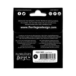 PROMO de -60% sur Outils de découpe LOVE NOUS Florilèges Design